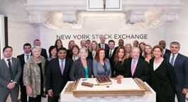 Adtalem Leadership Pose at NYSE