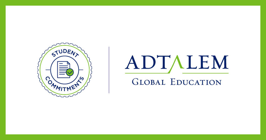 Adtalem Student Commitments logo