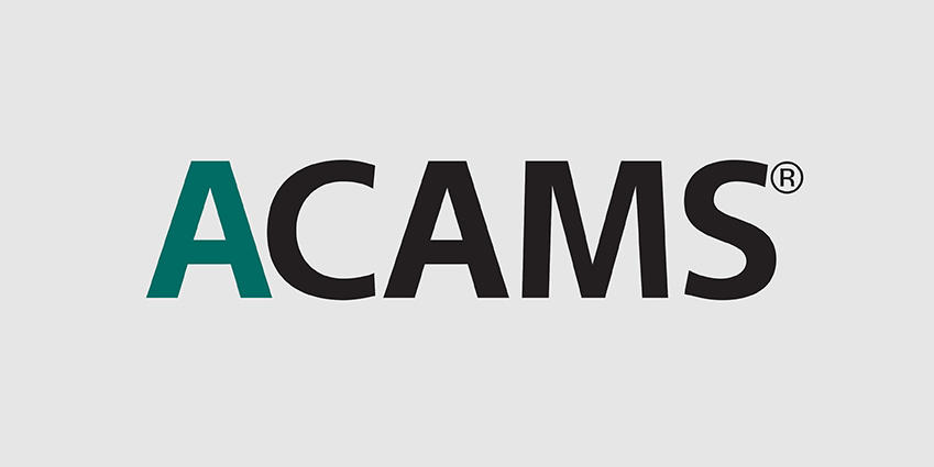 ACAMS logo