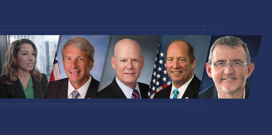 Headshots of experts on One Health Act