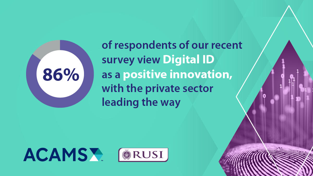 86 percent of respondents view Digital ID as a positive innovation