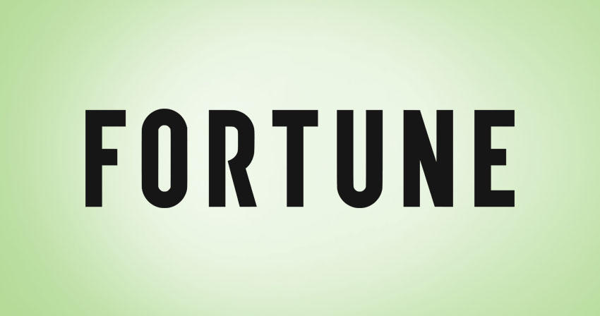 "graphic text of ""Fortune"""