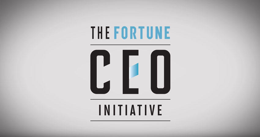 "video still of text ""The Fortune CEO Initiative"""